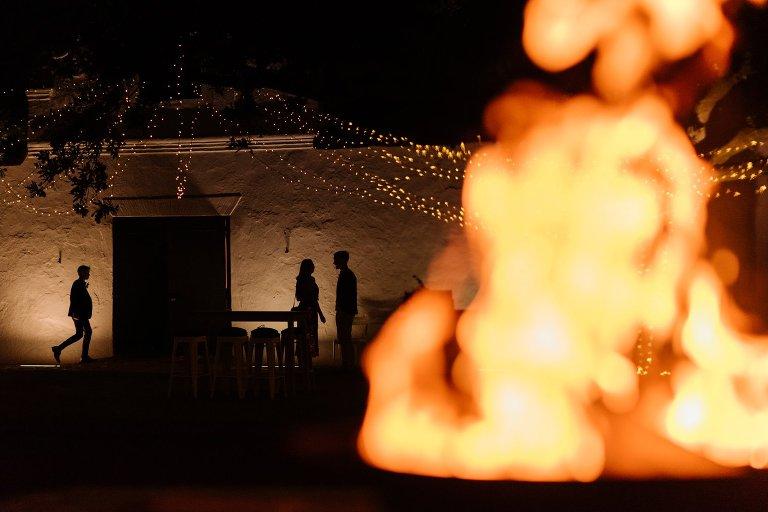 babylonstoren wedding reception setup