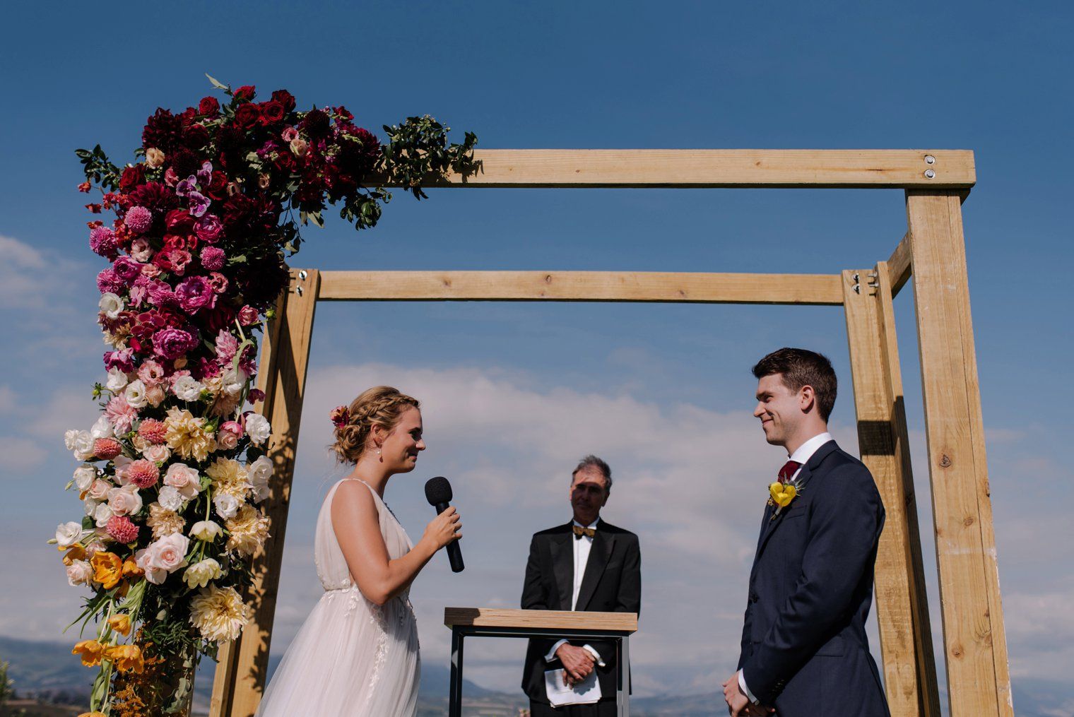 outdoor wedding venue in stellenbosch