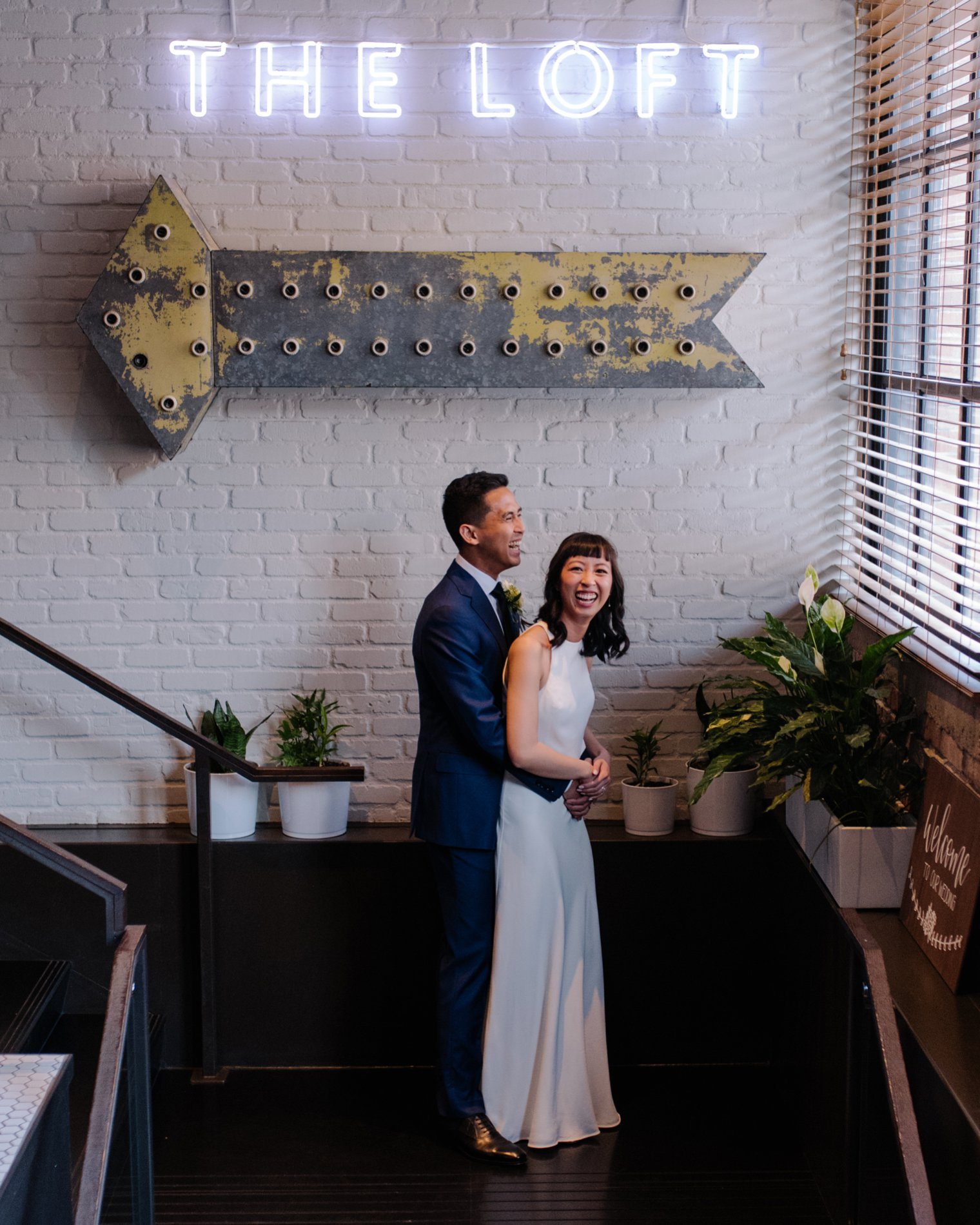 wedding photo at loft at earls yaletown
