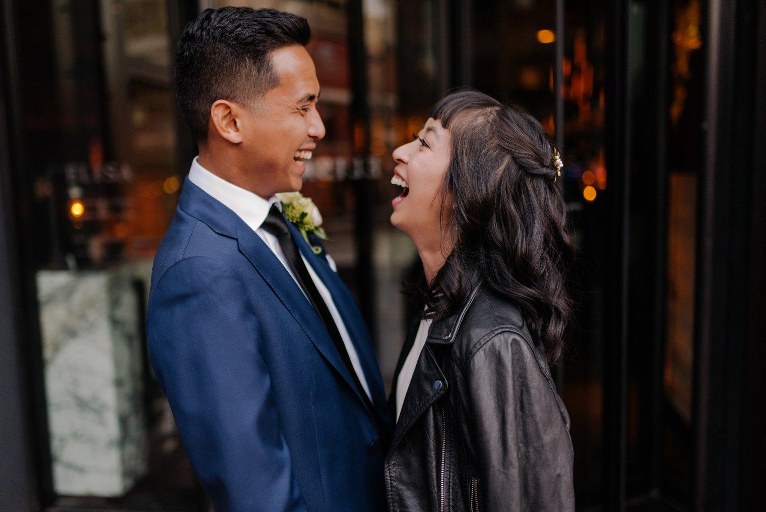 vancouver yaletown wedding portrait