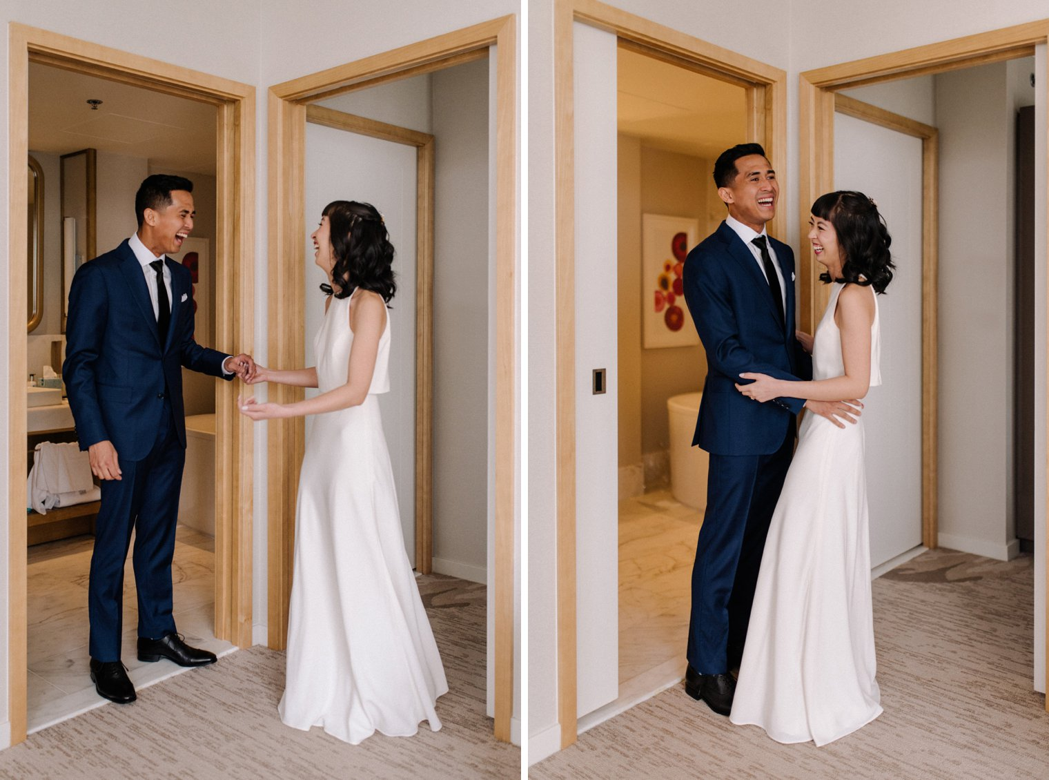 best marriott parq vancouver wedding