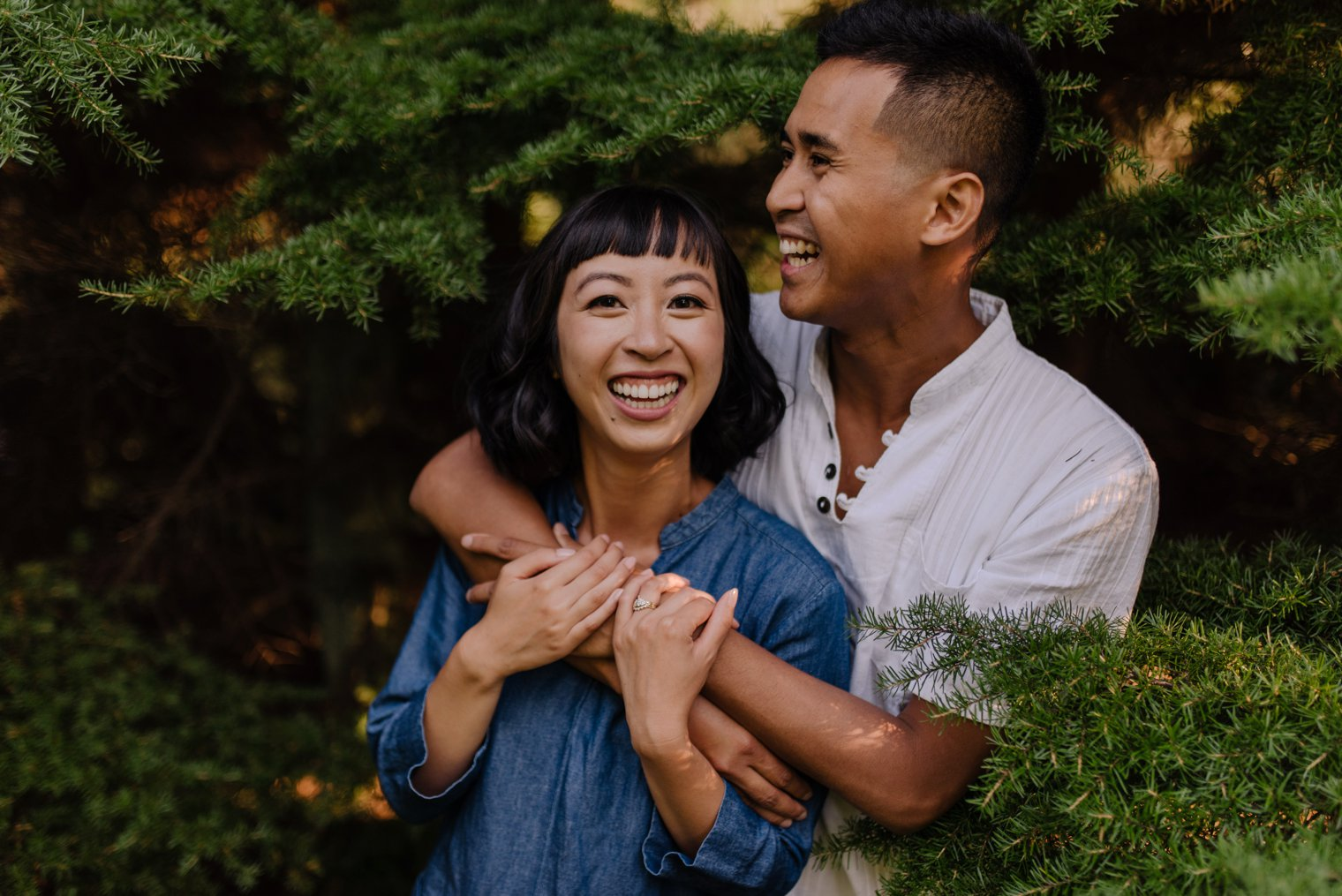 best vancouver forest engagement pictures