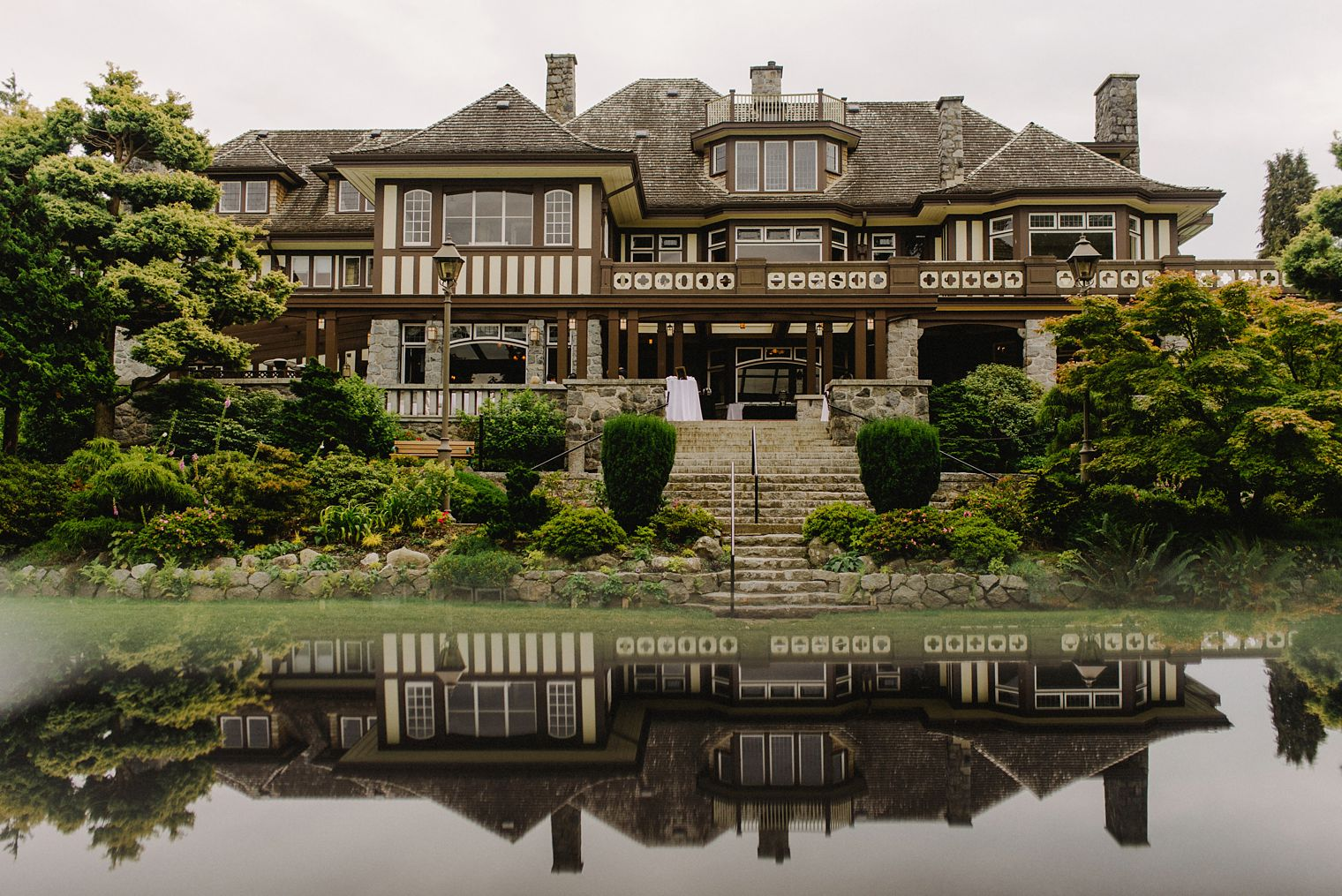 mansion wedding in Vancouver