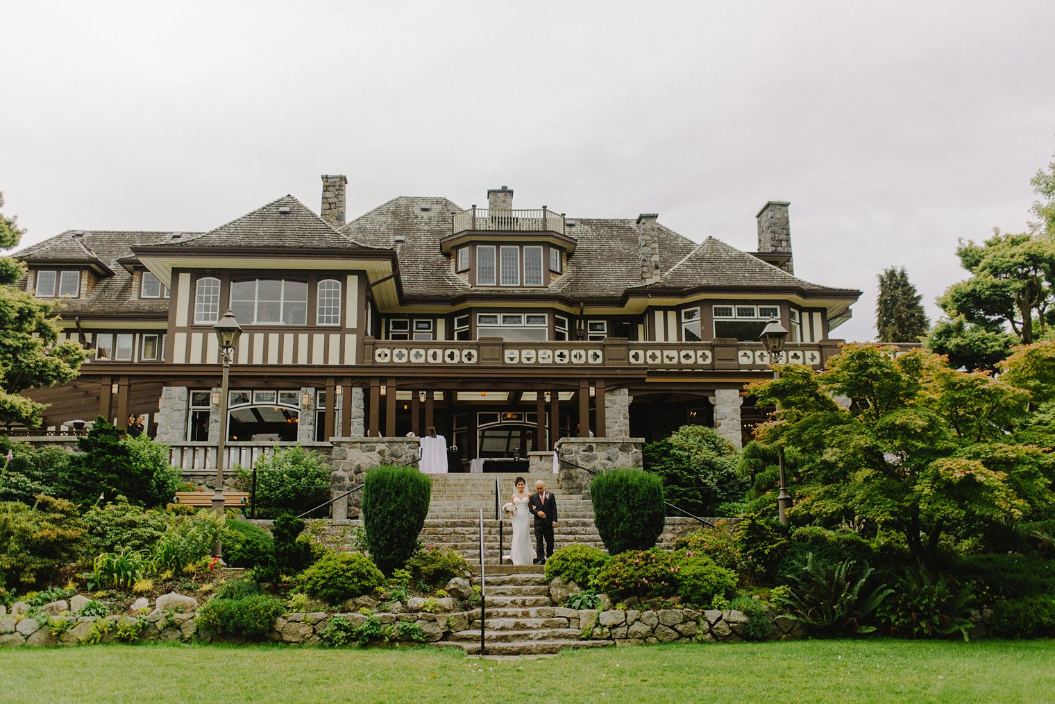 vancouver mansion wedding