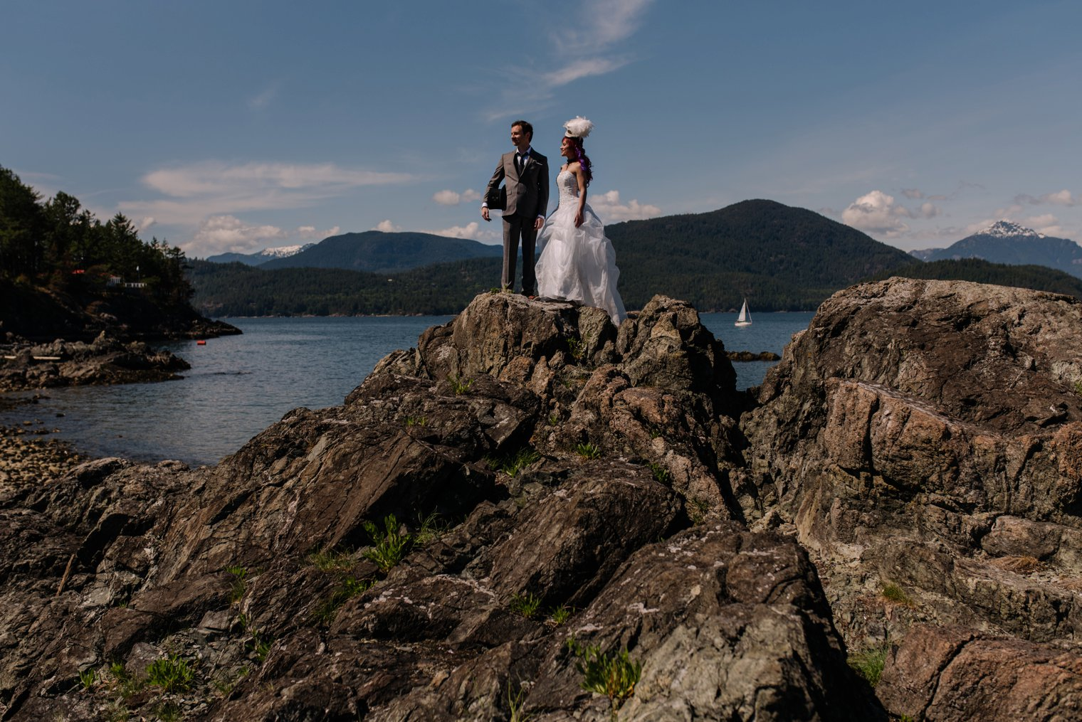 best bowen island wedding photos