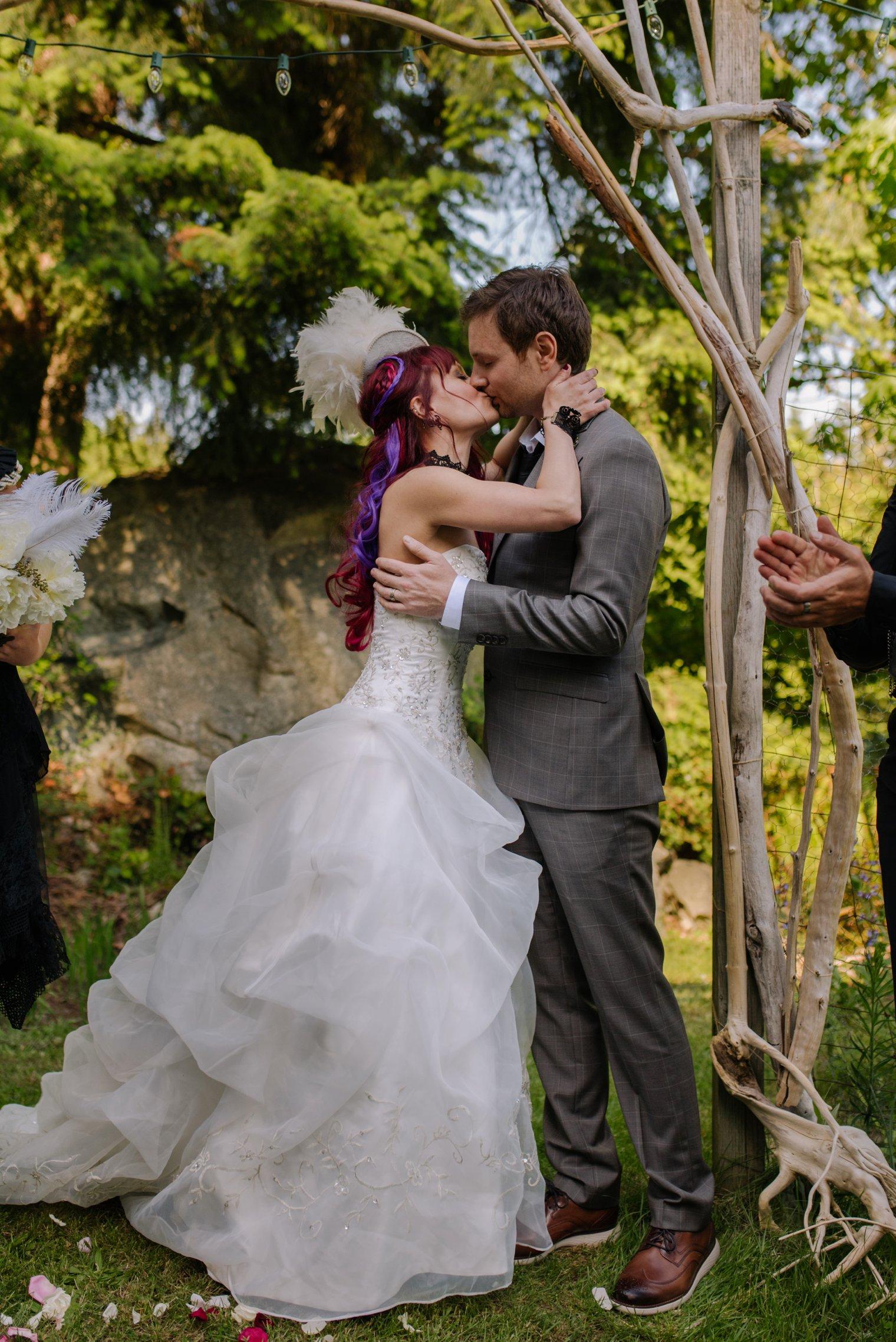 bowen island wedding ceremony