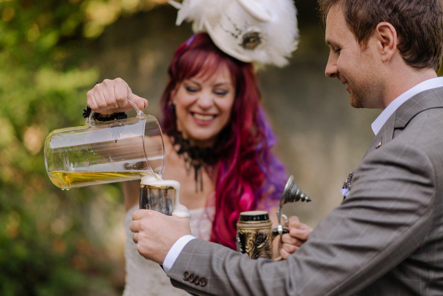 steampunk wedding ceremony