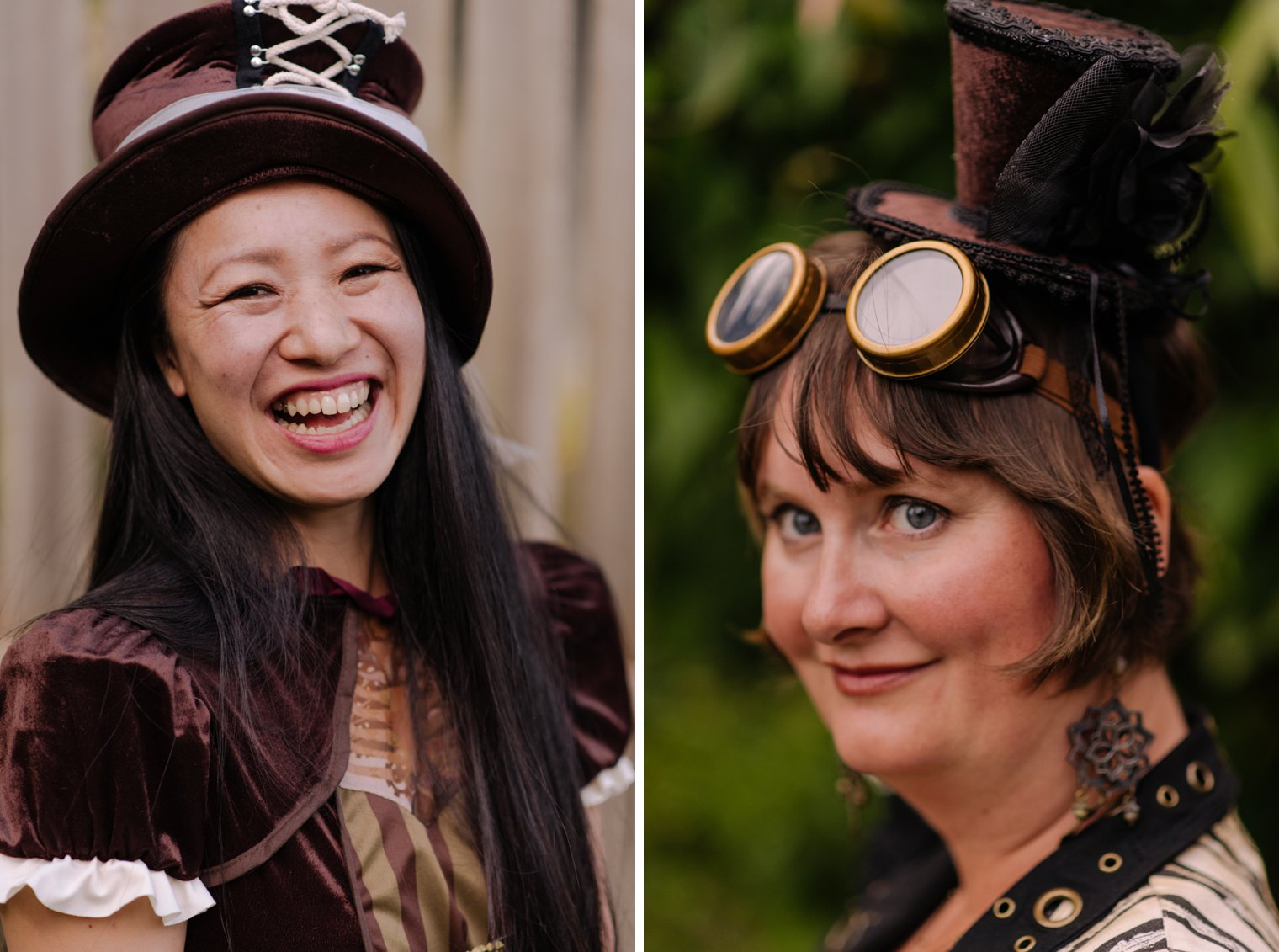 steampunk wedding in vancouver