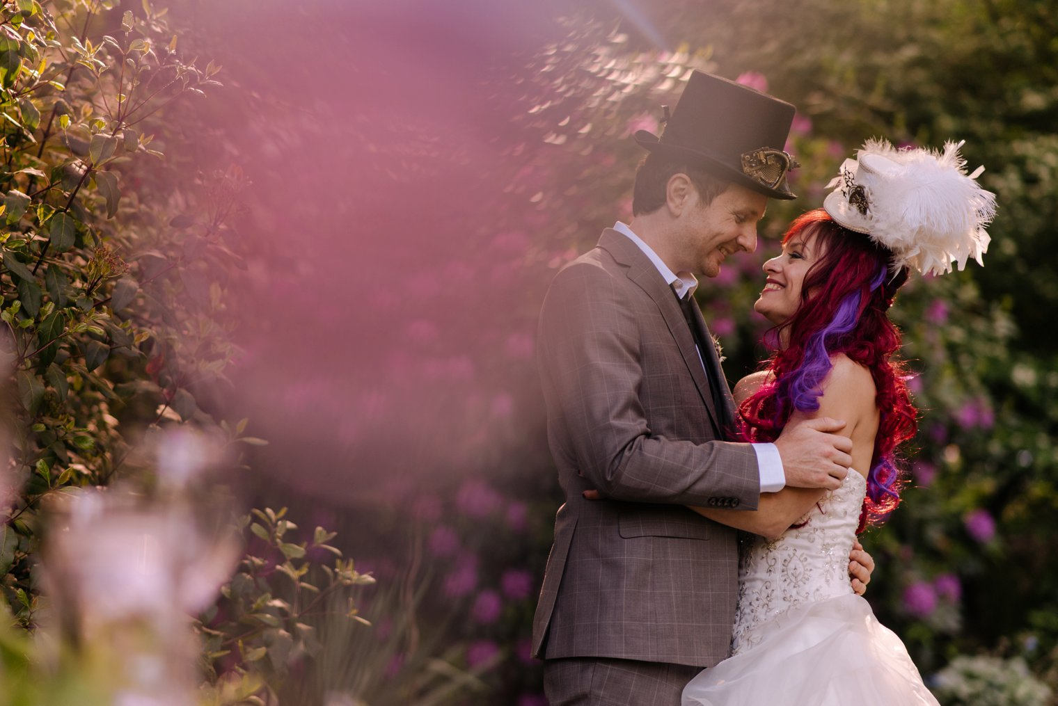steampunk wedding photos