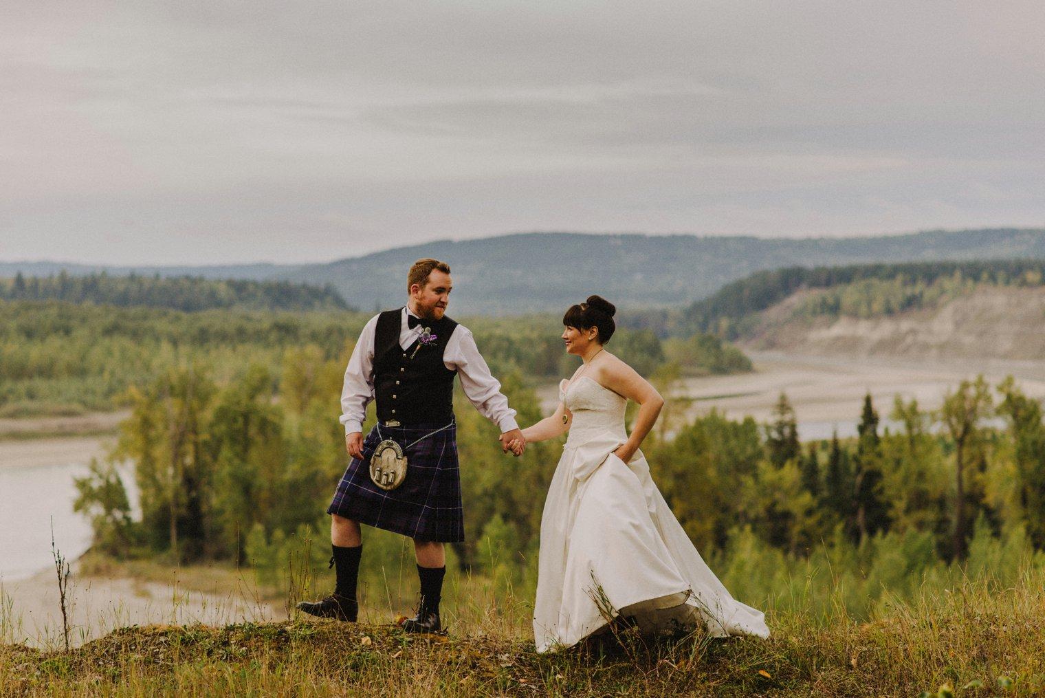 quesnel wedding photography