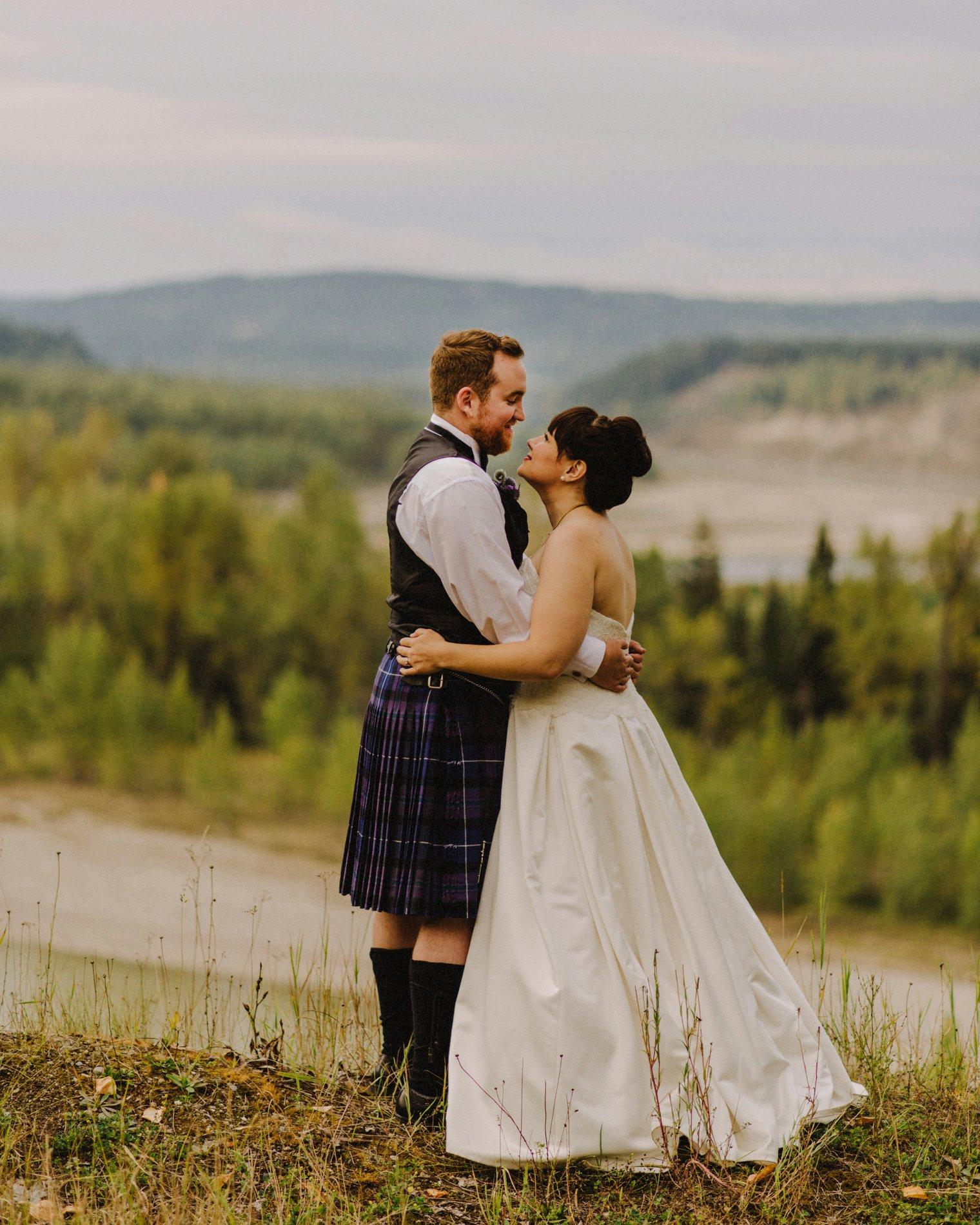 quesnel wedding photos