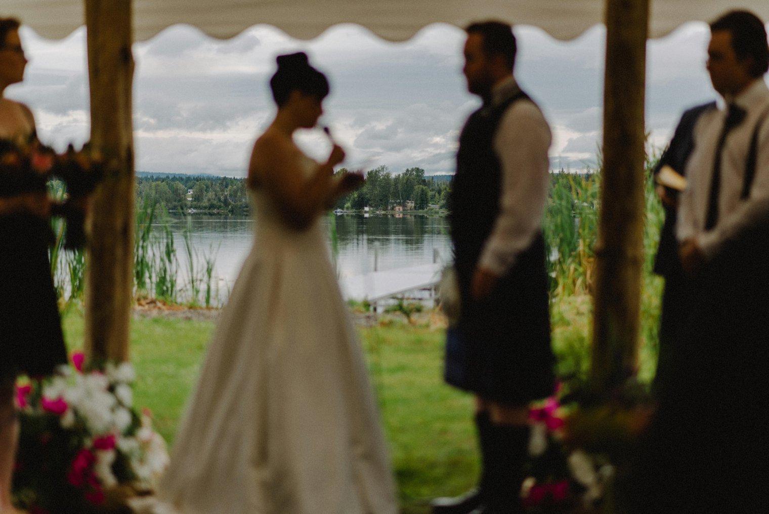 outdoor wedding venue Quesnel