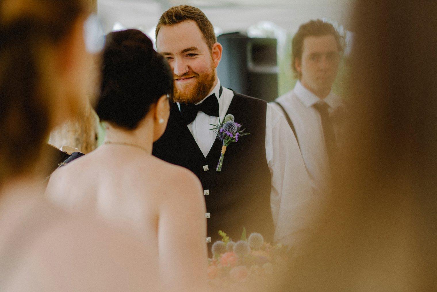 quesnel wedding ceremony
