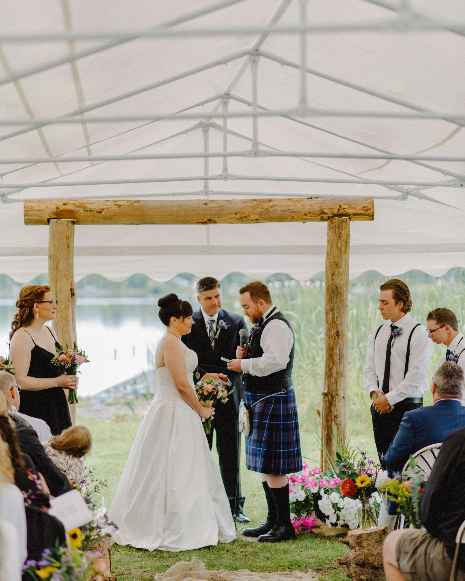 quesnel wedding