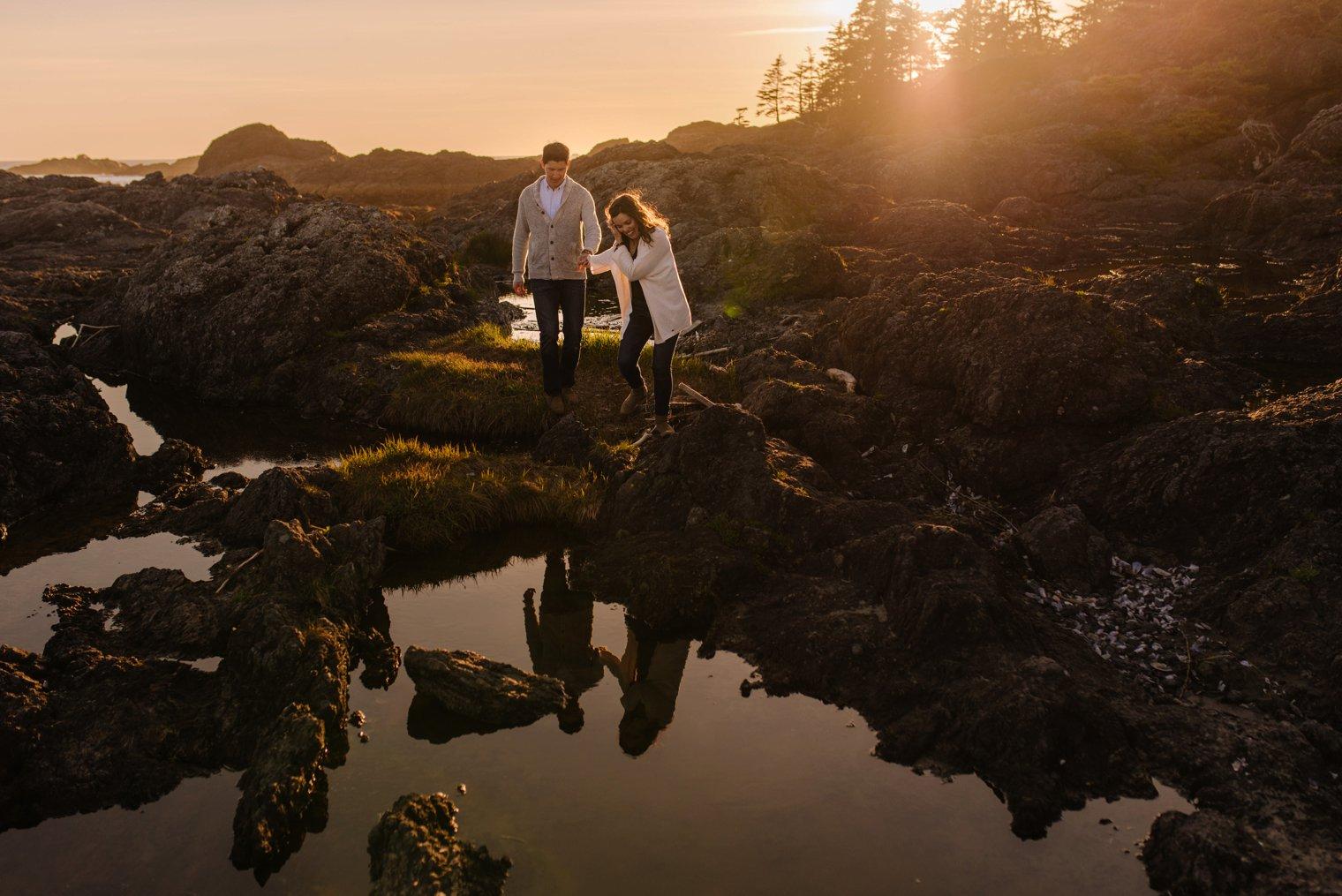 best tofino engagement photos