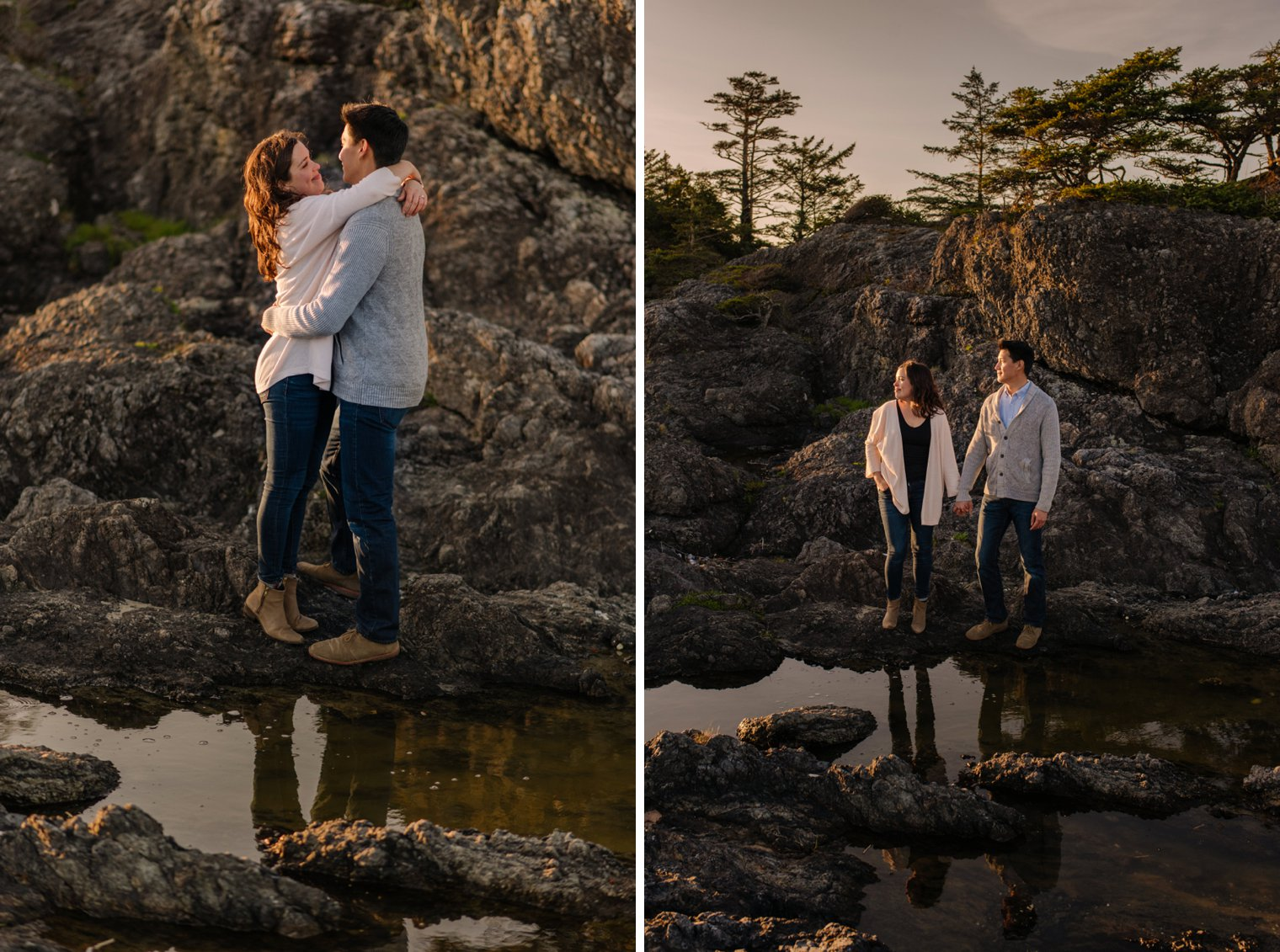 frank island engagement session