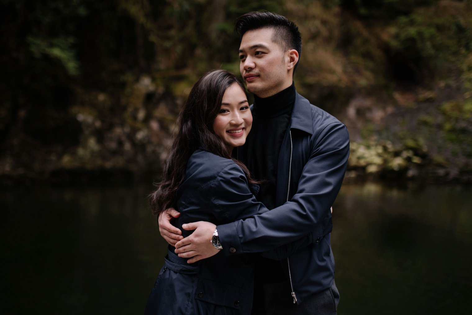 north vancouver forest engagement