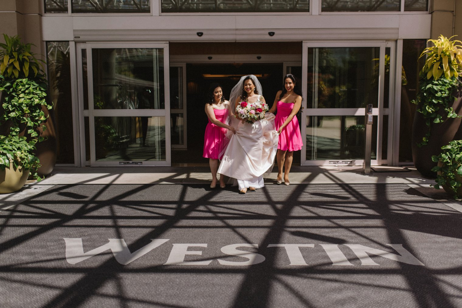 asian wedding at westin bayshore