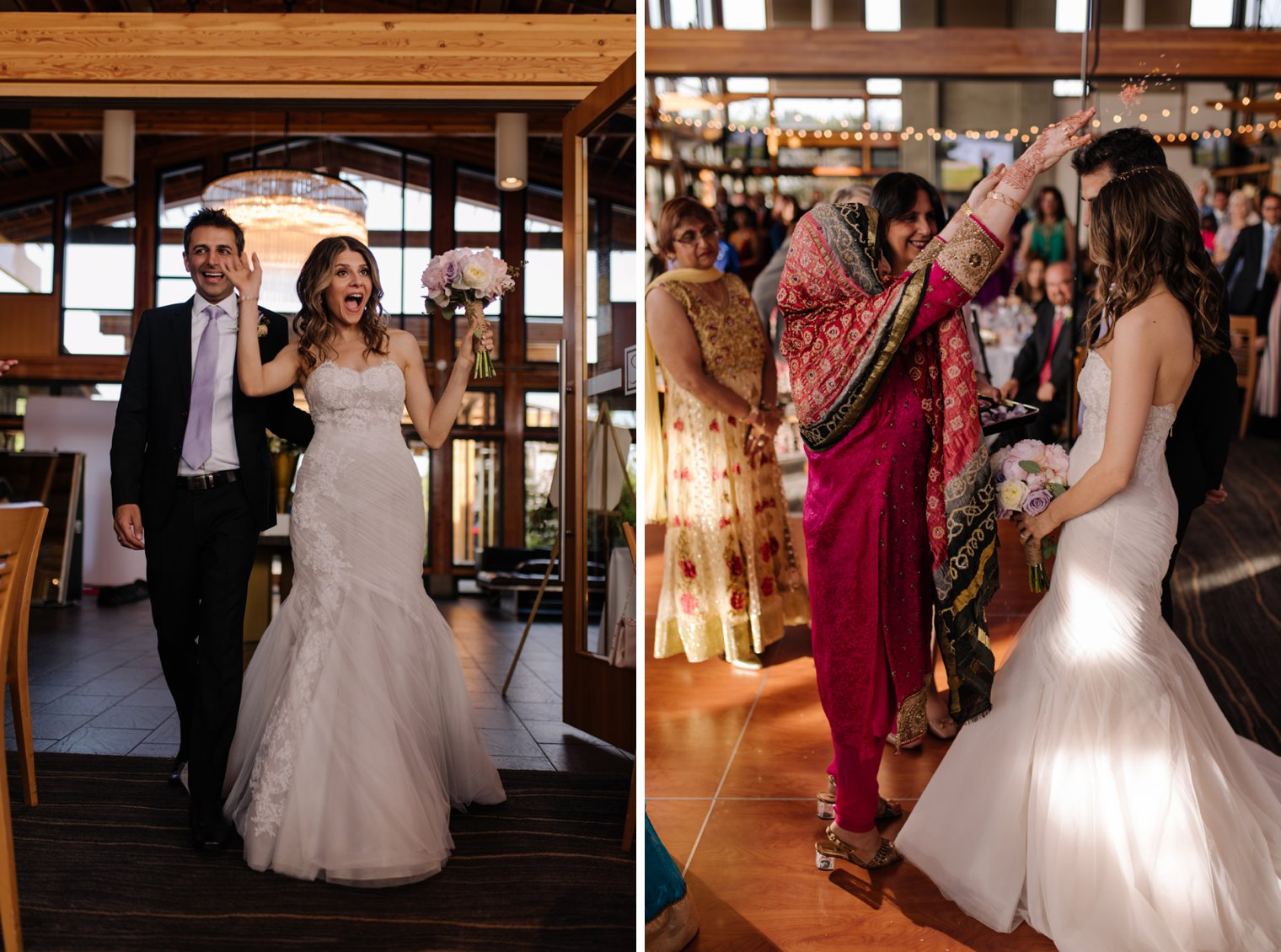 wedding reception at riverway clubhouse in vancouver
