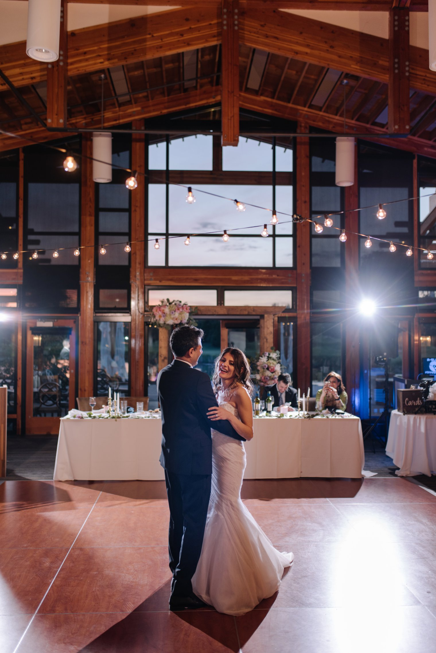 first dance at riverway clubhouse in vancouver