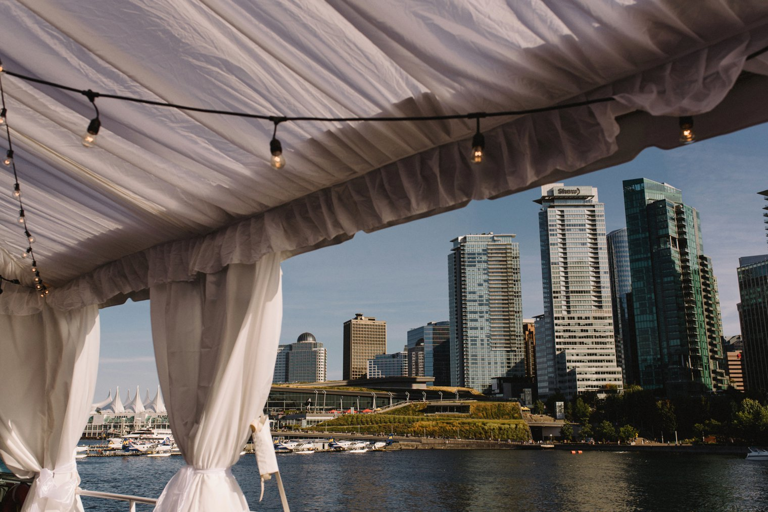 pacific yacht charters wedding venue