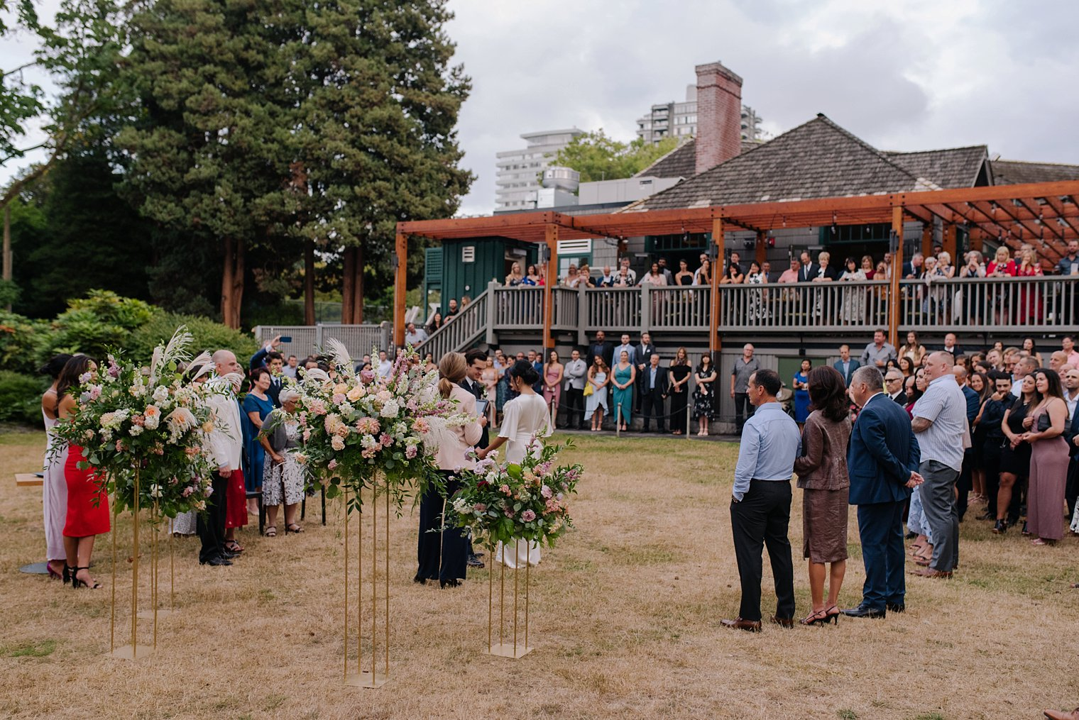 stanley park brewing wedding in vancouver