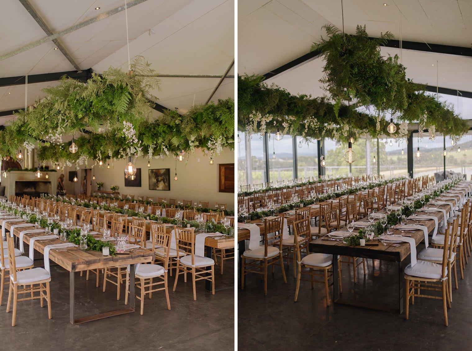 wedding reception at kay and monty vineyards